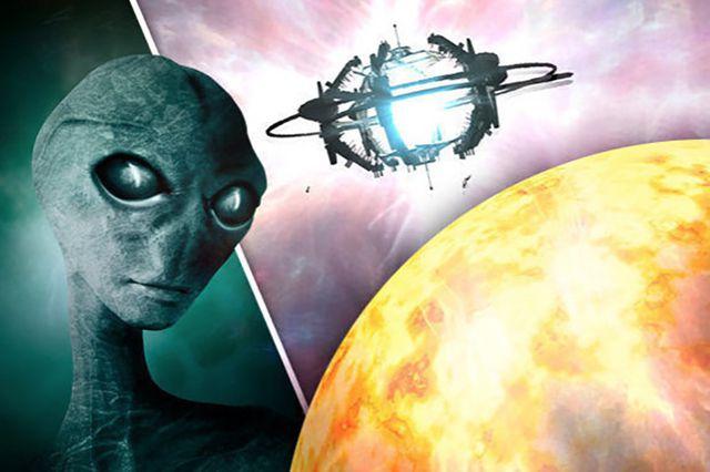 Hình ảnh đẹp người ngoài hành tinh và ufo