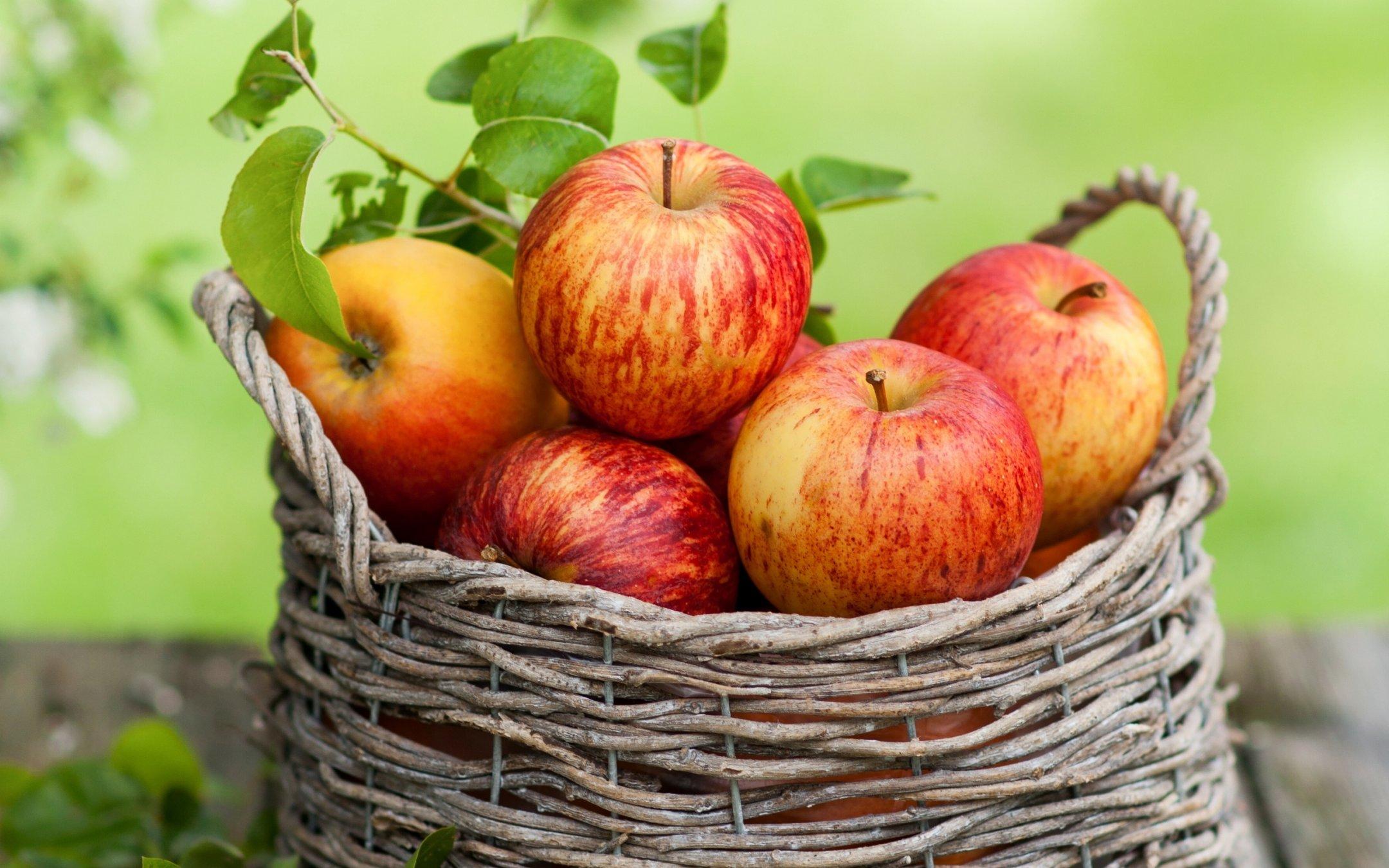 Hình ảnh giỏ táo cực đẹp