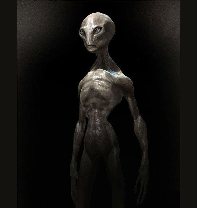 Hình ảnh người ngoài hành tinh cực đẹp