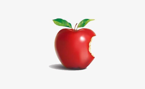 Hình ảnh quả táo cắn dở đẹp