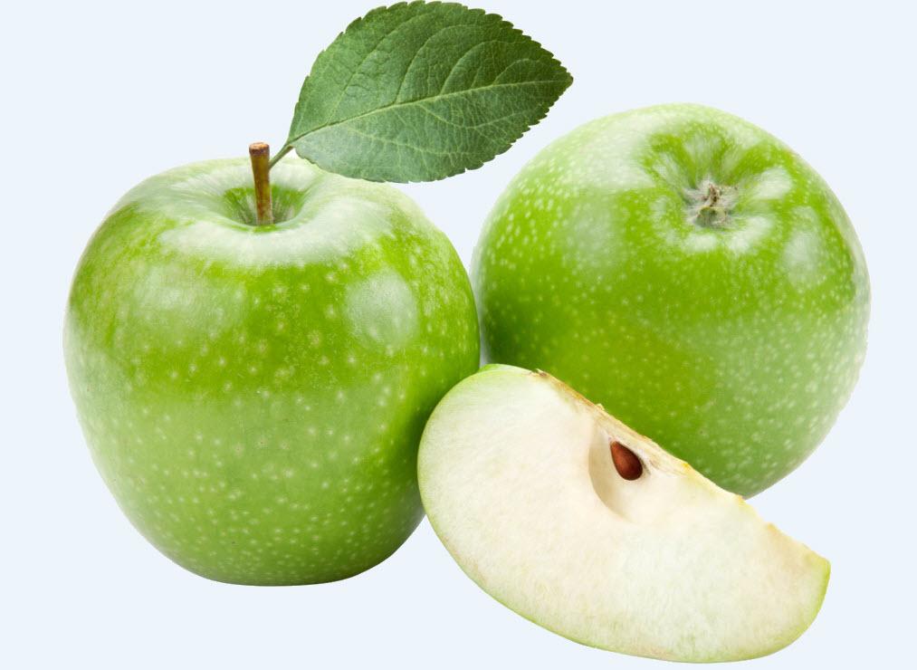 Hình ảnh quả táo màu xanh