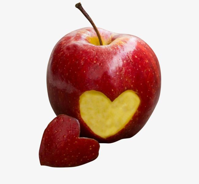 Hình ảnh quả Táo trái tim