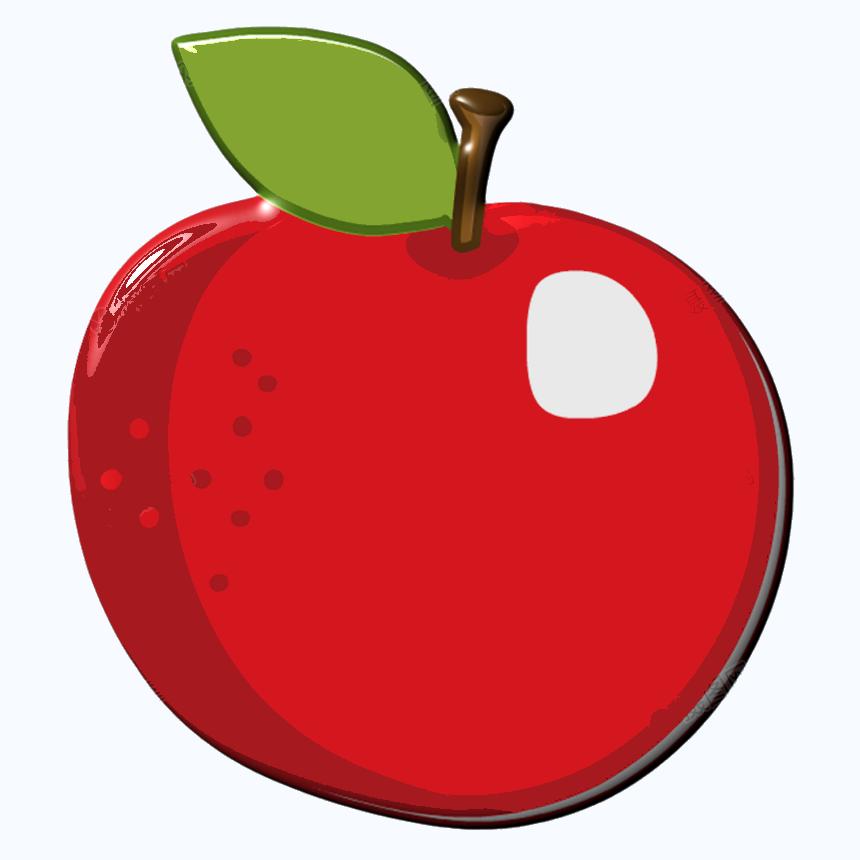 Hình quả táo đỏ cực đẹp
