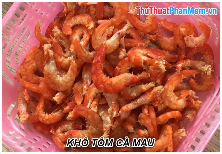 Khô tôm Cà Mau