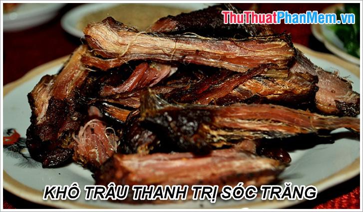 Khô Trâu Thanh Trị Sóc Trăng