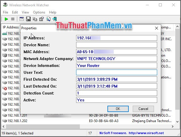 Kiểm tra IP lạ mặt