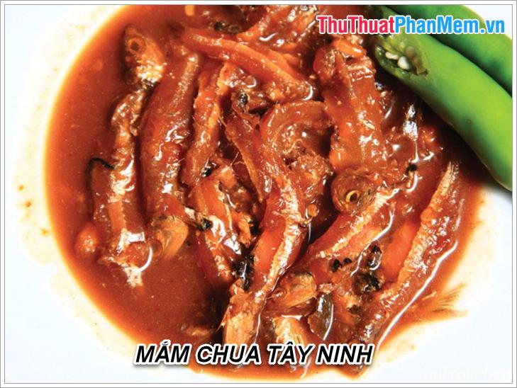 Mắm chua Tây Ninh