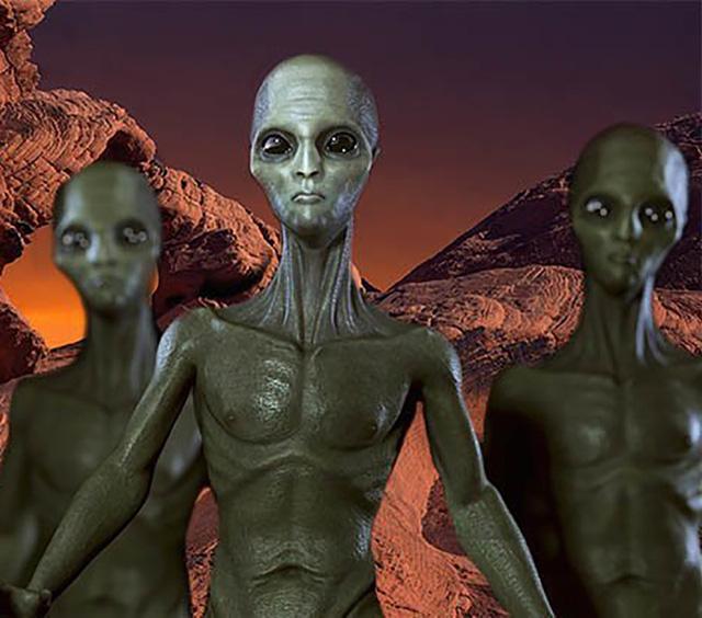 Những người ngoài hành tinh đẹp