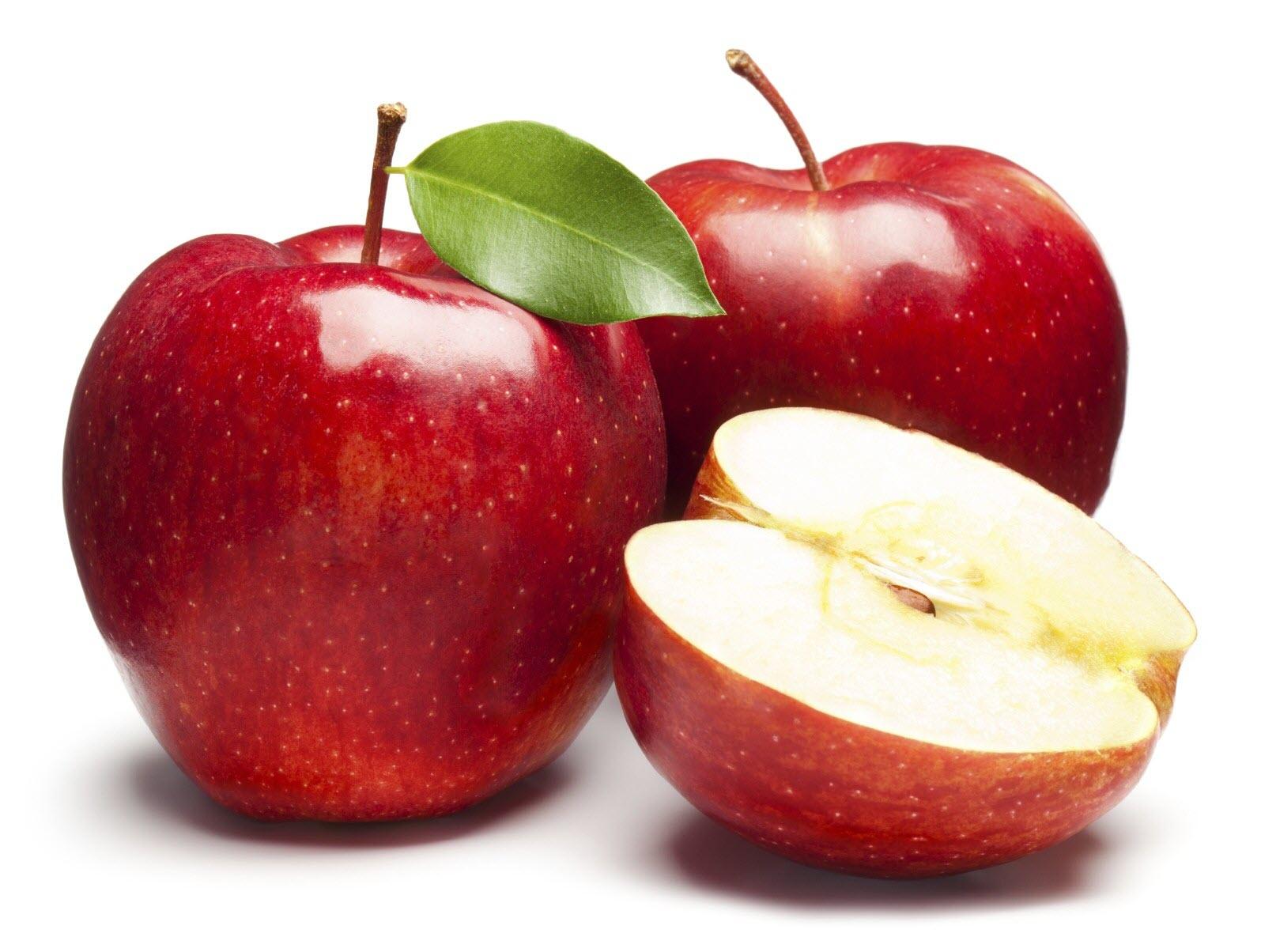 Những quả táo đỏ đẹp