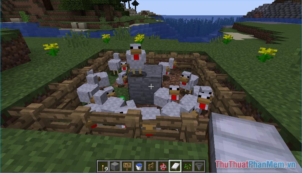 Hướng dẫn nuôi gà trong Minecraft (12)