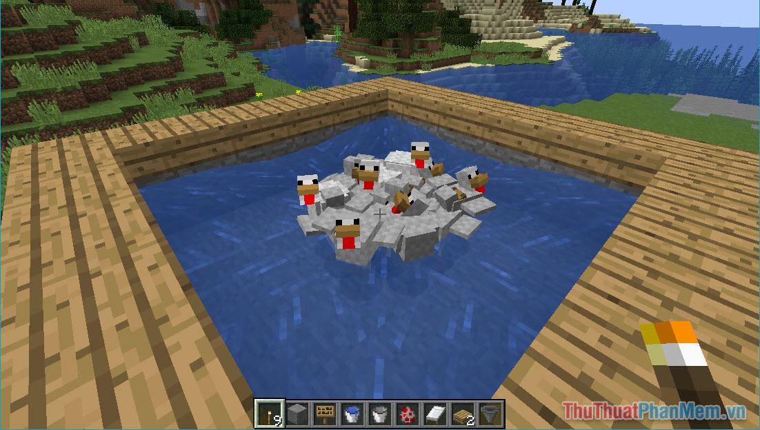 Hướng dẫn nuôi gà trong Minecraft (8)