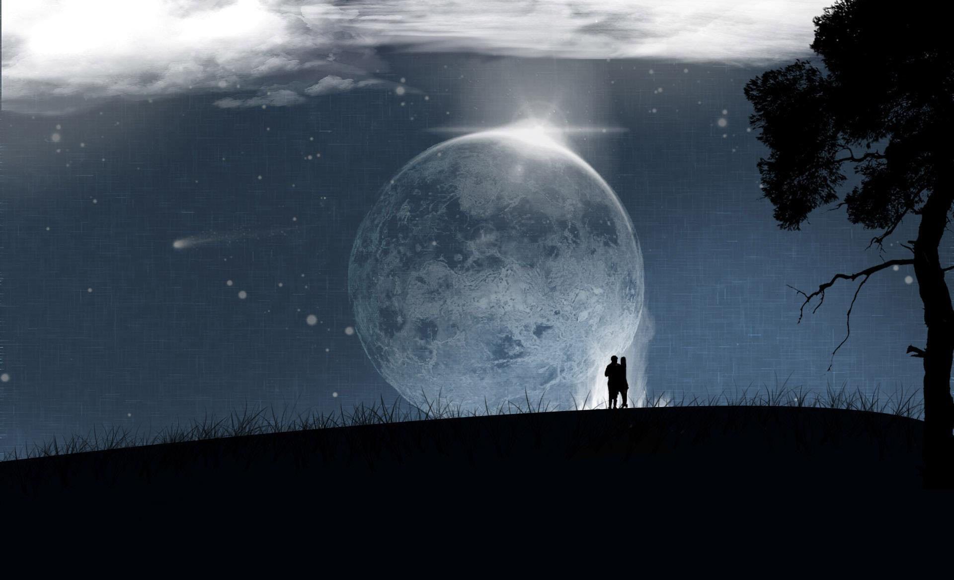 Ảnh đẹp và độc đáo của mặt trăng