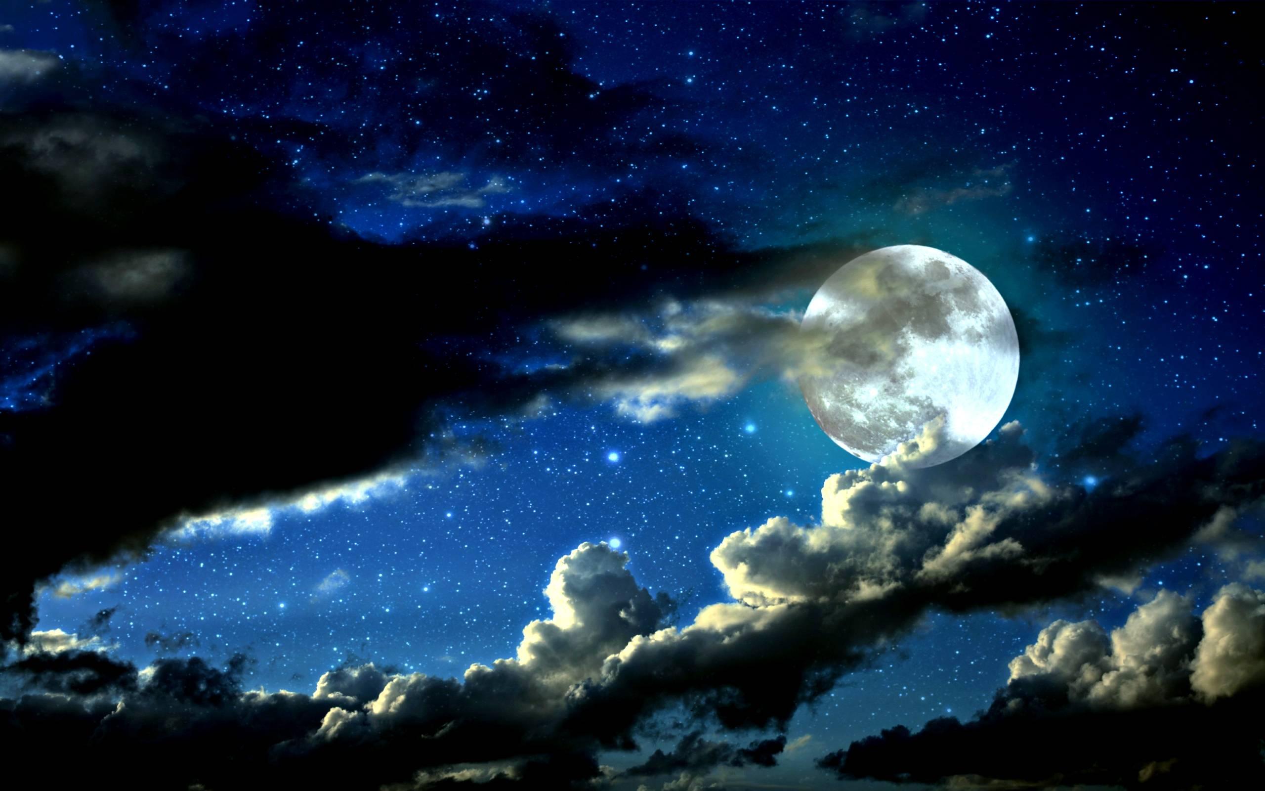 Ảnh mặt trăng sáng đẹp nhất