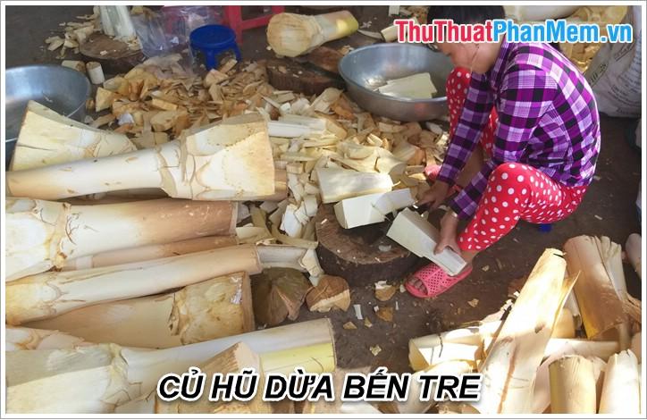 Củ hũ dừa Bến Tre