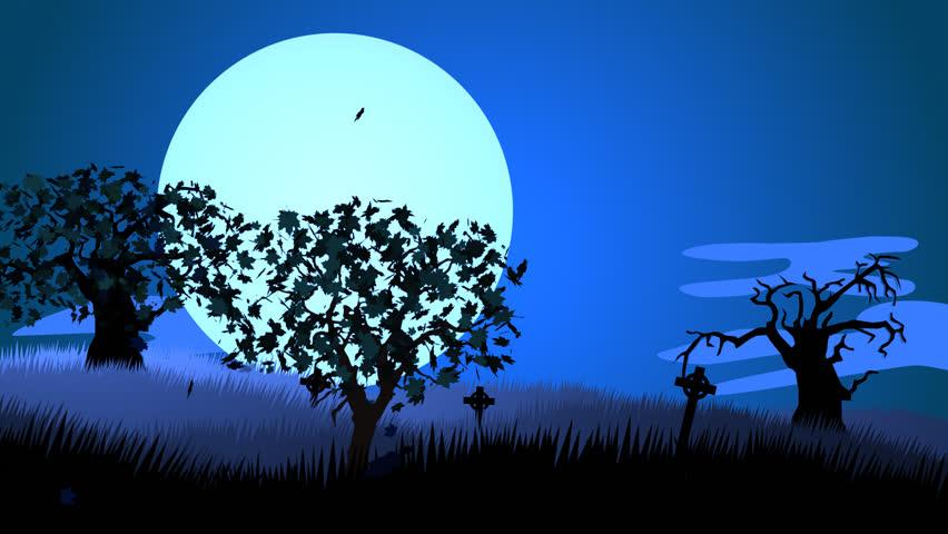 Hình ảnh đẹp mặt trăng vẽ