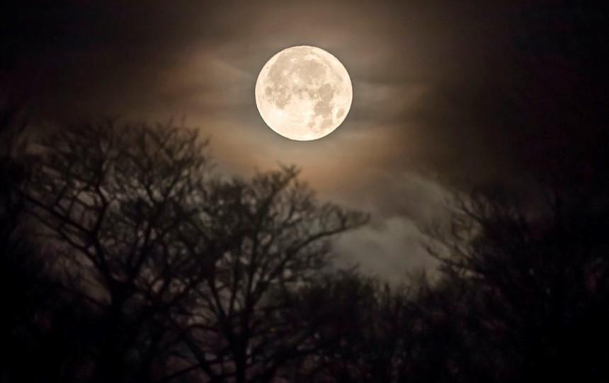 Hình ảnh mặt trăng đêm rằm