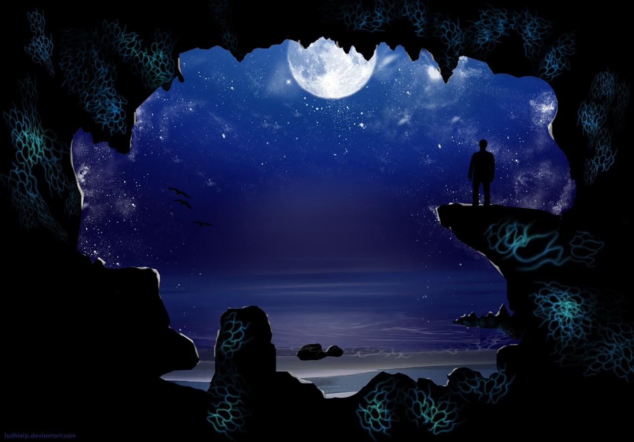 Hình ảnh mặt trăng lãng mạn
