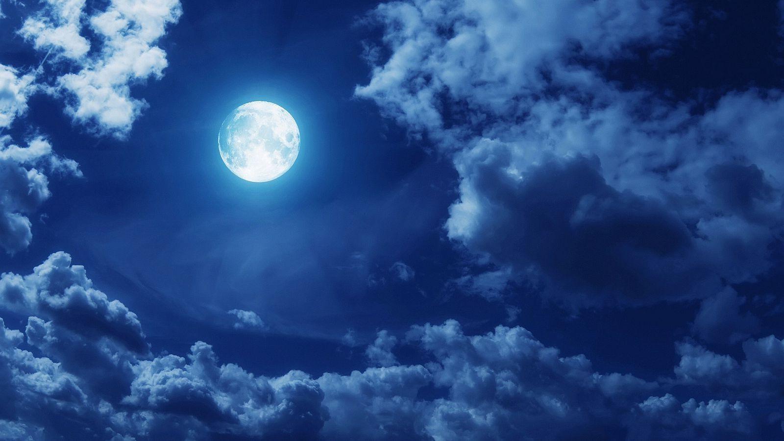 Hình ảnh mặt trăng sáng