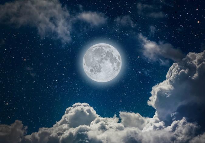 Hình ảnh trăng đêm rằm đẹp