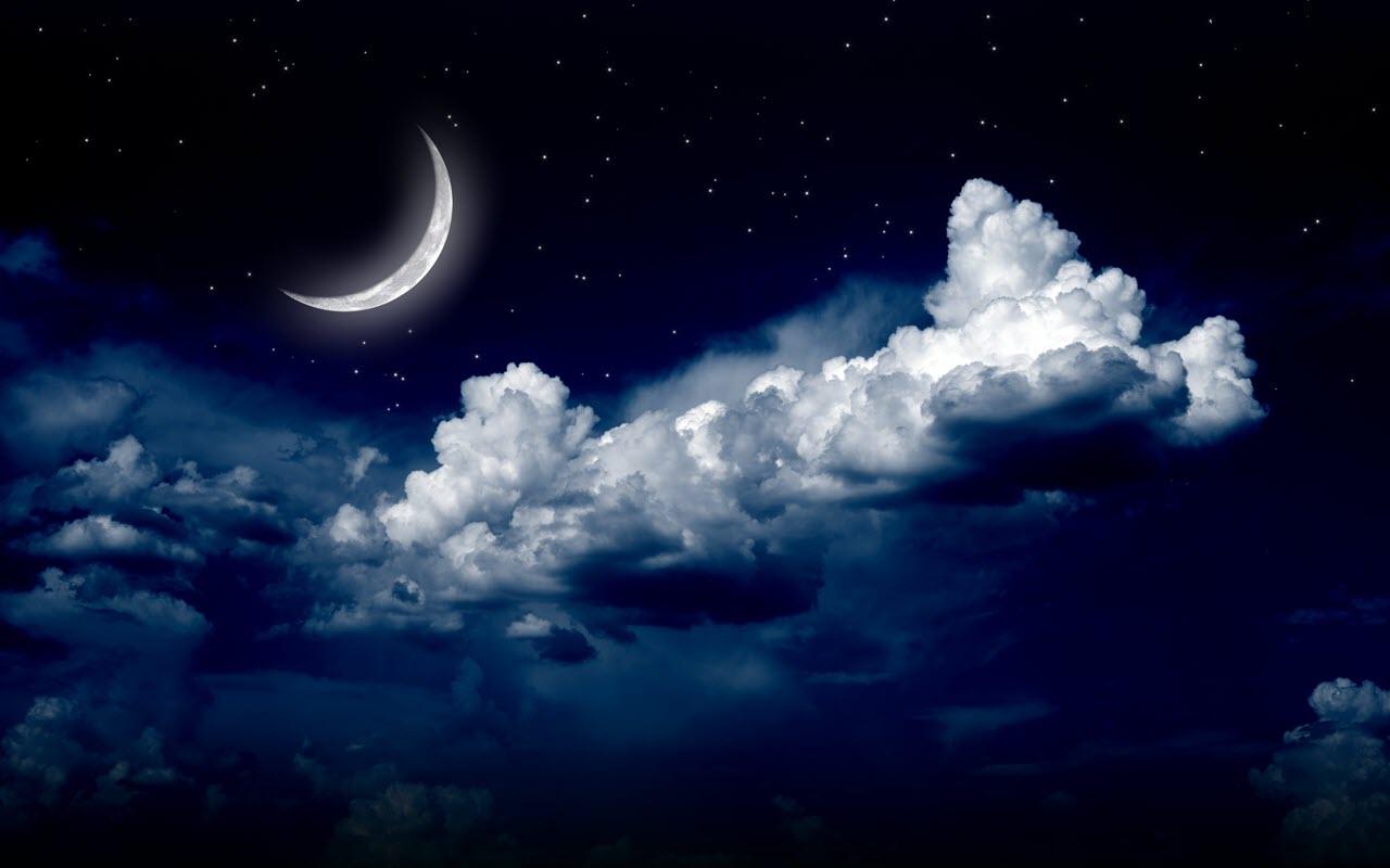 Hình ảnh trăng khuyết đẹp và độc đáo