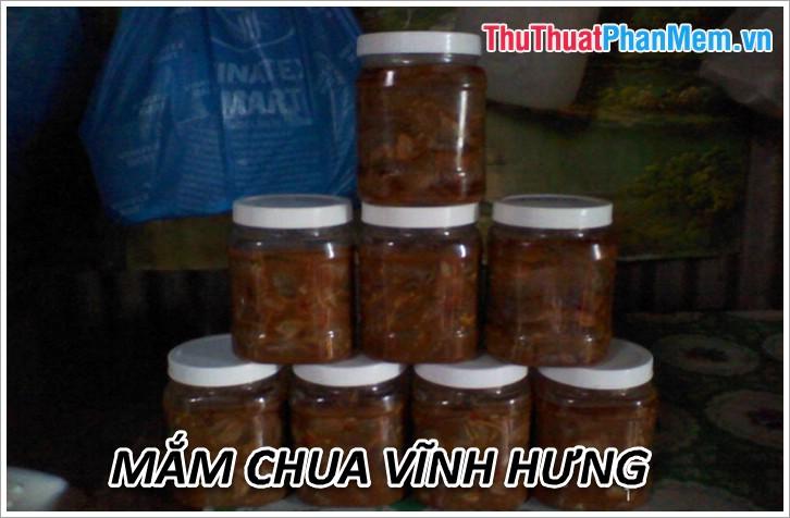 Mắm chua Vĩnh Hưng