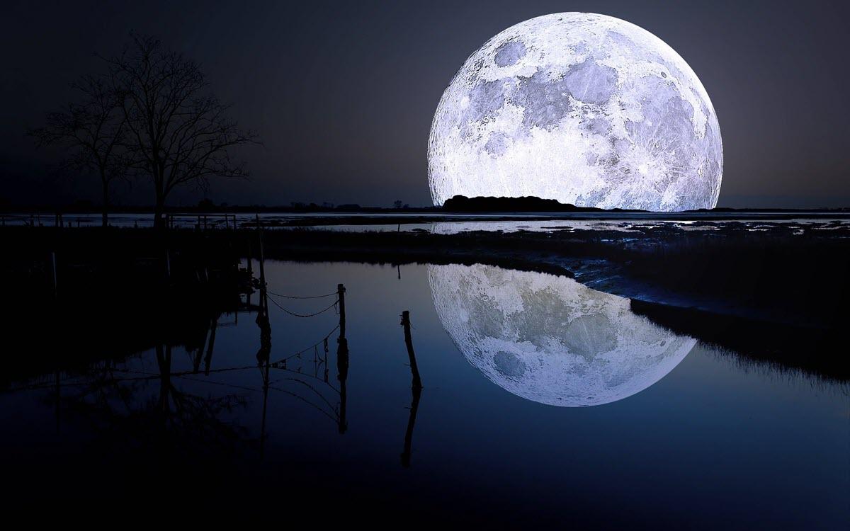 Những ảnh đẹp về mặt trăng