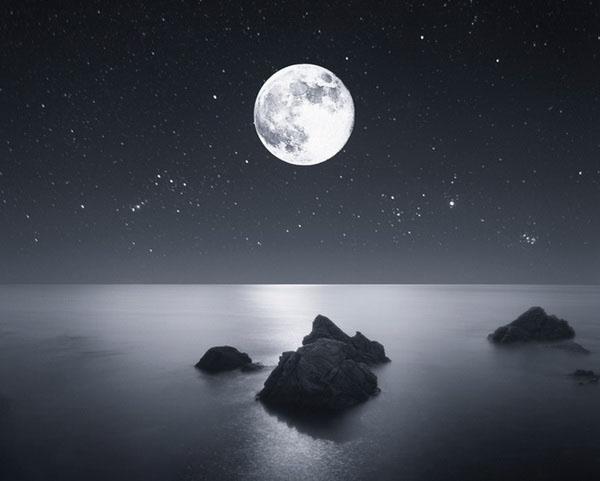 Những bức hình mặt trăng đẹp
