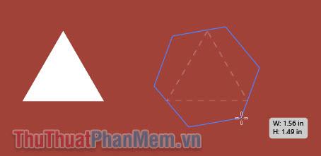 Vẽ hình tam giác (2)