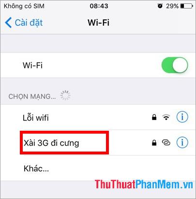 Xài 3G đi cưng