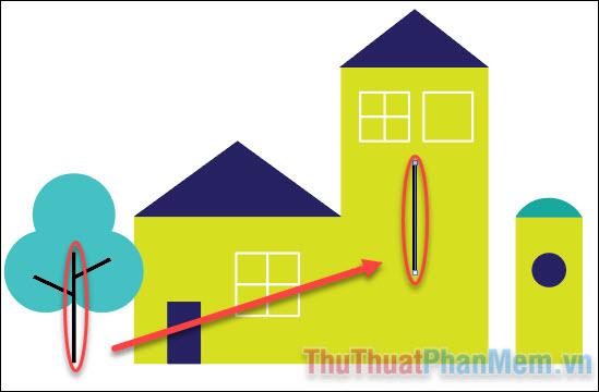 Hướng dẫn vẽ đường thẳng trong Adobe Illustrator (5)