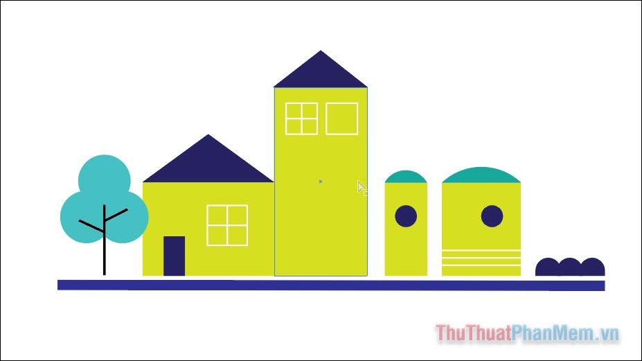 Hướng dẫn vẽ đường thẳng trong Adobe Illustrator (6)
