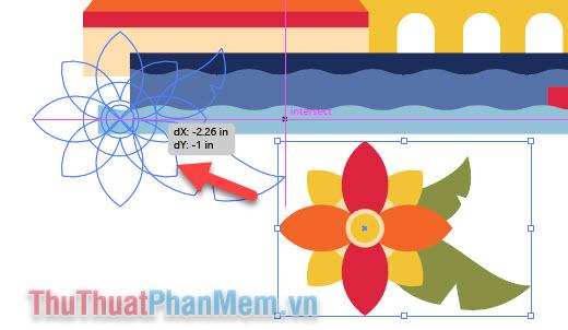 Chỉnh sửa kích thước, vị trí, xoay, lật hình trong Adobe Illustrator (11)