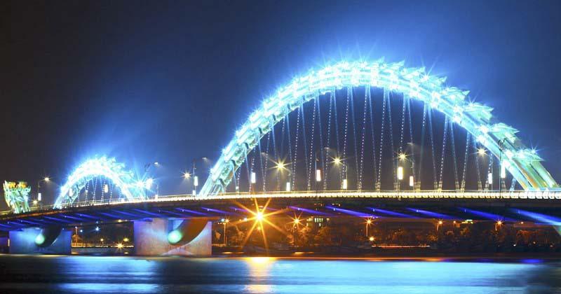 Hình ảnh đẹp về cầu Rồng