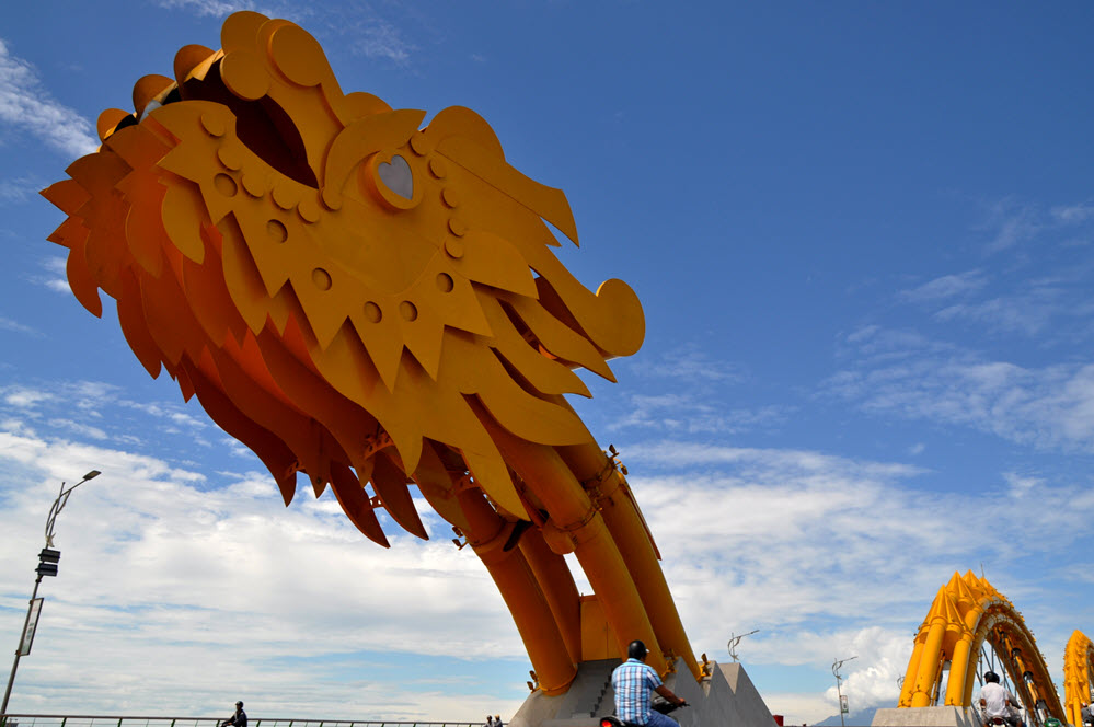Hình ảnh về đầu cầu rồng Đà Nẵng