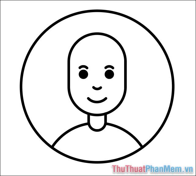 Vẽ hình minh họa avatar cơ bản bằng Adobe Illustrator (19)