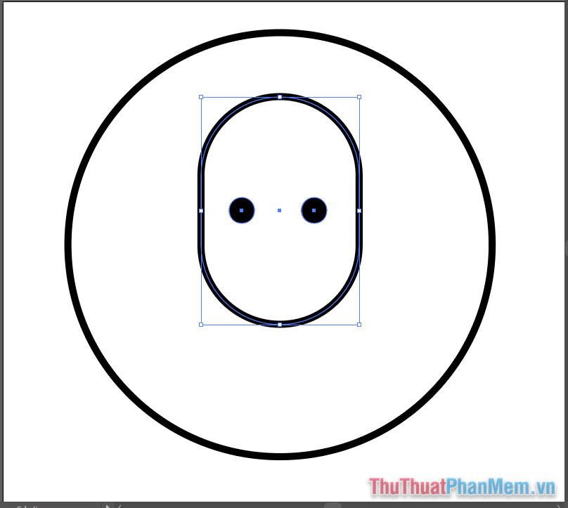 Vẽ hình minh họa avatar cơ bản bằng Adobe Illustrator (7)