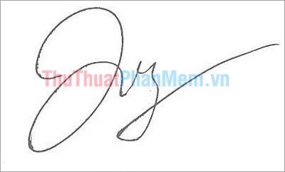 Mẫu chữ ký đơn giản tên Dương đẹp