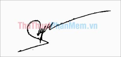 Mẫu chữ ký đơn giản tên Hải Yến