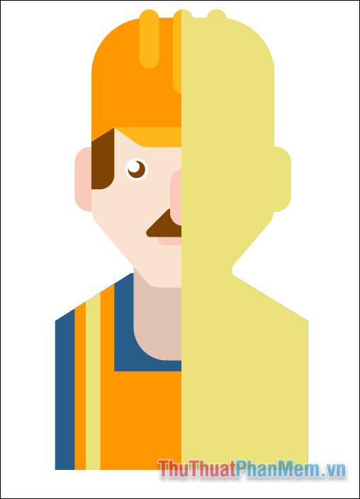 Vẽ avatar chuyên nghiệp bằng Adobe Illustrator (45)