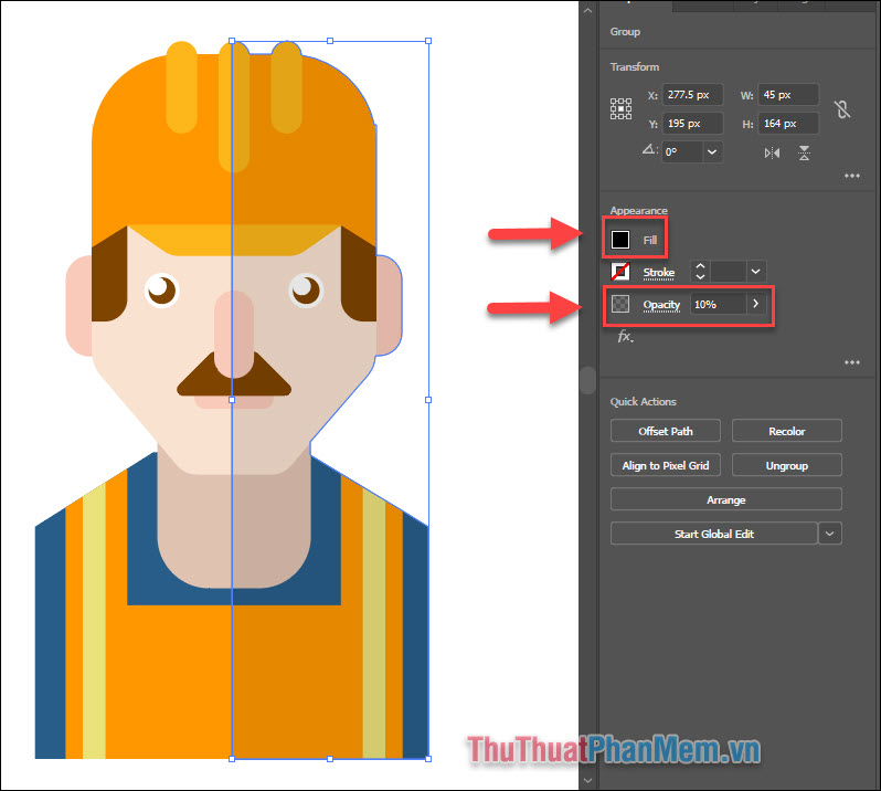 Vẽ avatar chuyên nghiệp bằng Adobe Illustrator (47)