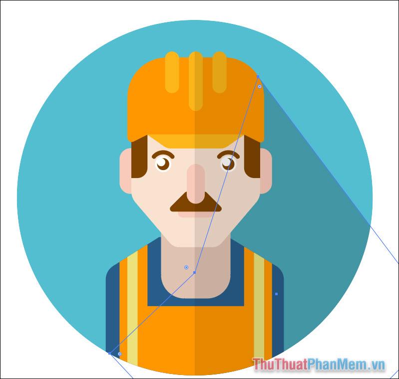 Vẽ avatar chuyên nghiệp bằng Adobe Illustrator (61)