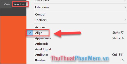 Căn chỉnh (Align) trong Adobe Illustrator (4)