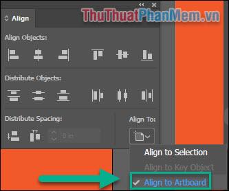 Căn chỉnh (Align) trong Adobe Illustrator (9)