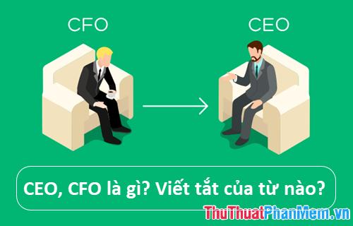 CEO CFO