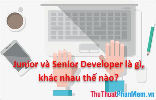 Junior và Senior Developer là gì, khác nhau thế nào