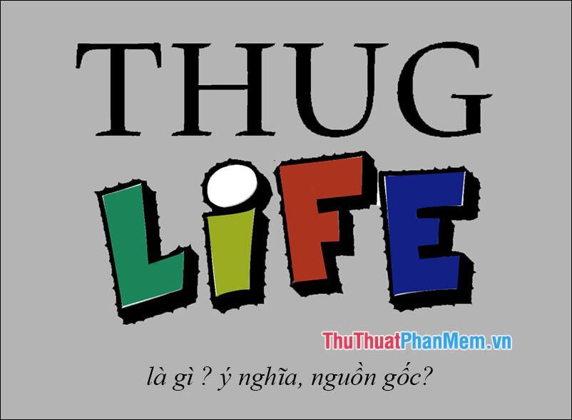 Thug life là gì? Ý nghĩa và nguồn gốc của từ Thug life