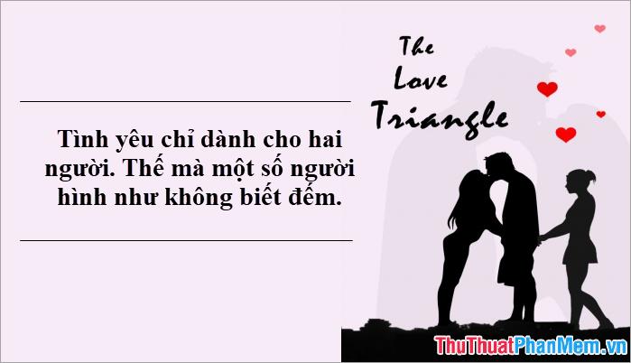 Tình yêu chỉ dành cho hai người