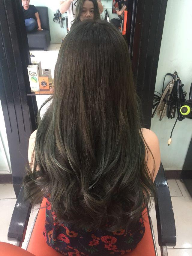 Các kiểu tóc xoăn đuôi (2)