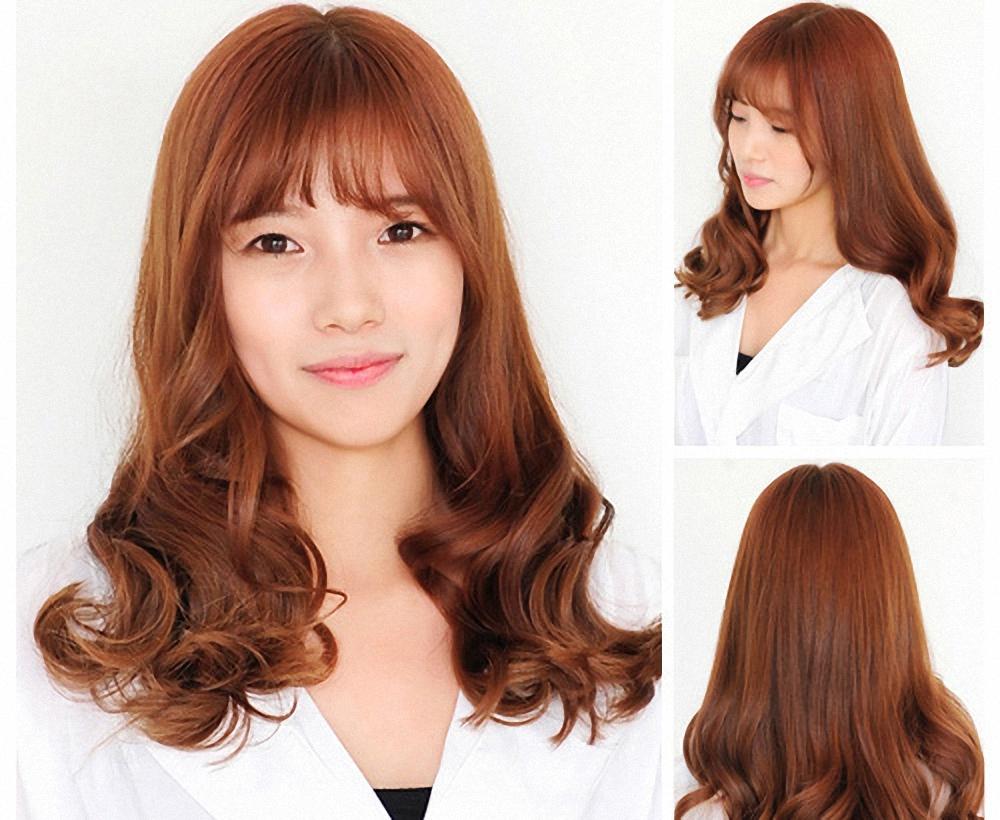 Các kiểu tóc xoăn đuôi nhẹ