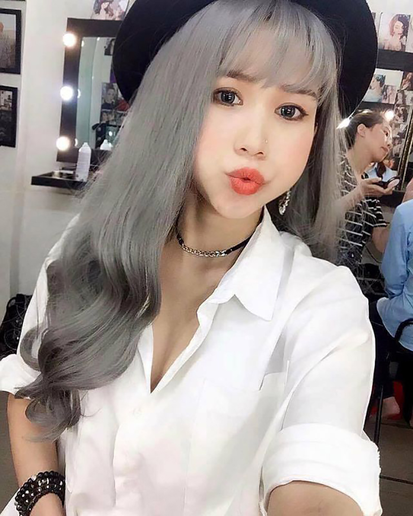 Kiểu tóc bạch kim hot nhất hiện nay